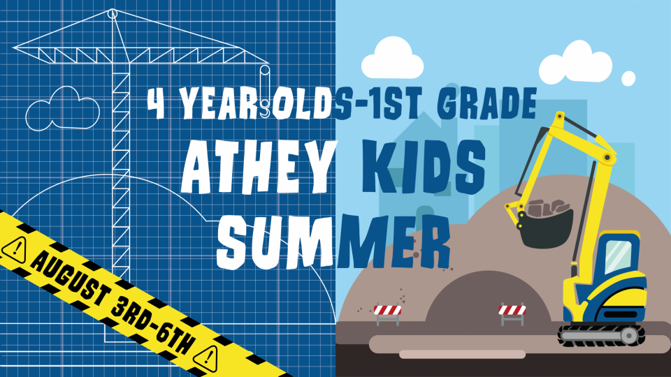 Poster forAthey Kids Summer 4 year olds-1st grade